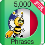 Learn French - 5000 Phrases APK icon