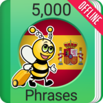 Learn Spanish - 5000 Phrases for pc icon
