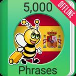Learn Spanish - 5000 Phrases APK icon