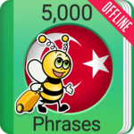 Learn Turkish - 5000 Phrases icon