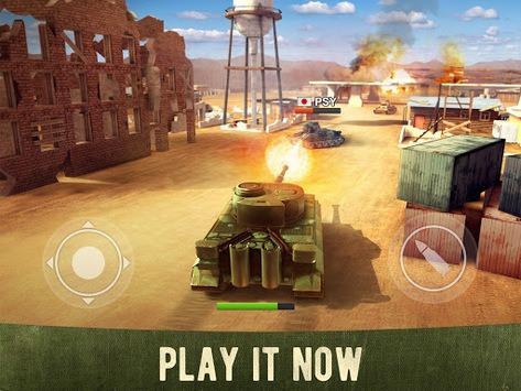 War Machines: Free Multiplayer Tank Shooting Games APK screenshot 1