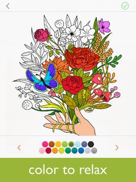 Colorfy: Coloring Book for Adults - Free pc screenshot 1