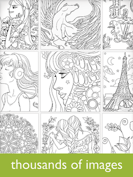 Colorfy: Coloring Book for Adults - Free APK screenshot 1
