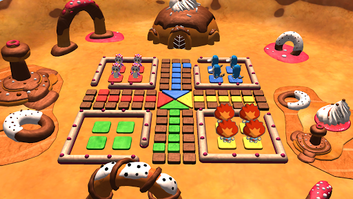Ludo 3D Multiplayer APK screenshot 1