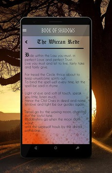 Wicca Calendar APK screenshot 1