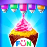 Ice Cream Cone Cupcake-Cupcake Mania icon