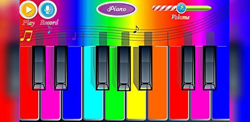 Rainbow Piano pc screenshot