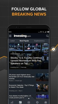 Stocks, Forex, Finance, Markets: Portfolio & News APK screenshot 1