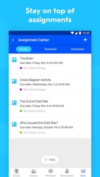 Edmodo APK screenshot 1