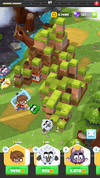 Idle Crafting Empire APK screenshot 1