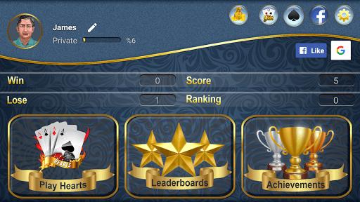 Hearts APK screenshot 1