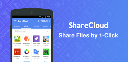 ShareCloud - Share By 1-Click pc screenshot