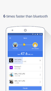 ShareCloud - Share By 1-Click APK screenshot 1