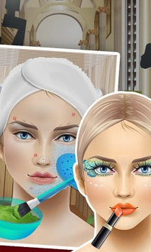 Celebrity SPA - girls games APK screenshot 1