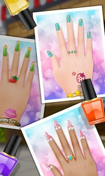 Nail Makeover - Girls Games APK screenshot 1