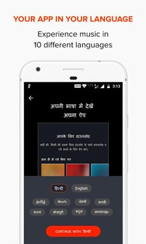 Gaana Music - Hindi Tamil Telugu MP3 Songs Online APK screenshot 1