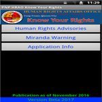 Philippine National Police Know Your Rights for pc icon