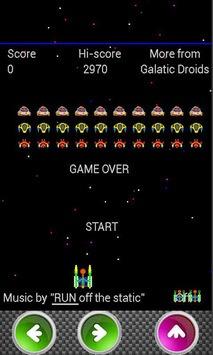 Galatic Attack APK screenshot 1