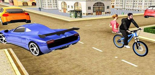 BMX Bicycle Taxi Driving Sim 2018 pc screenshot