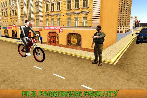 BMX Bicycle Taxi Driving Sim 2018 APK screenshot 1