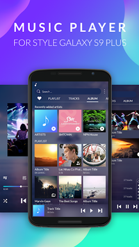 Music Player for Samsung Galaxy – S9 Mp3 Player APK screenshot 1