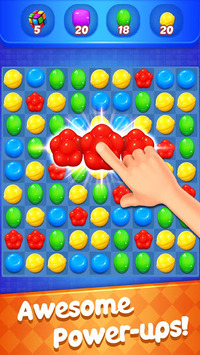 Sweet Candy Witch - Match 3 Puzzle Free Games APK screenshot 1