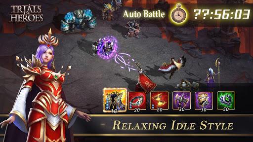 Trials of Heroes: Idle RPG APK screenshot 1