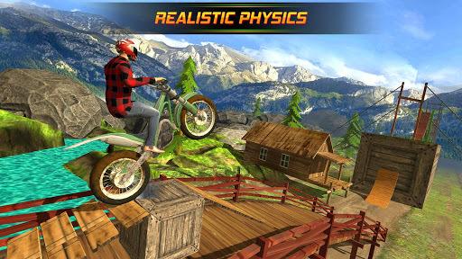 Bike Stunts Racing Free APK screenshot 1