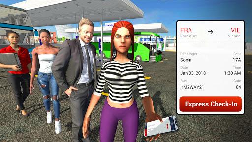 Coach Bus Driving Simulator 2018 APK screenshot 1