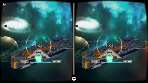 Deep Space Battle VR APK screenshot 1