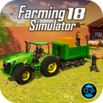 Tractor Driving Plow Farming Simulator Game icon