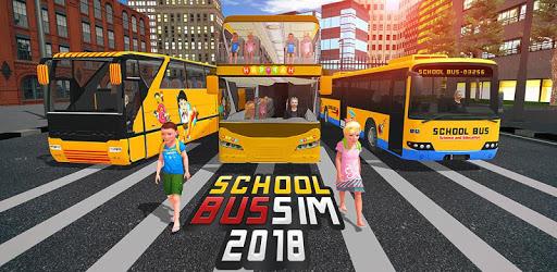 School Bus Driver Simulator 2018: City Fun Drive pc screenshot