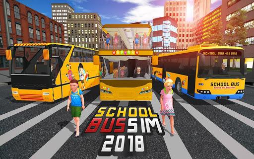 School Bus Driver Simulator 2018: City Fun Drive APK screenshot 1