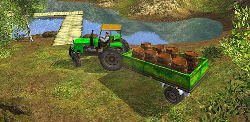 Offroad Tractor Farmer Simulator 2018: Cargo Drive pc screenshot