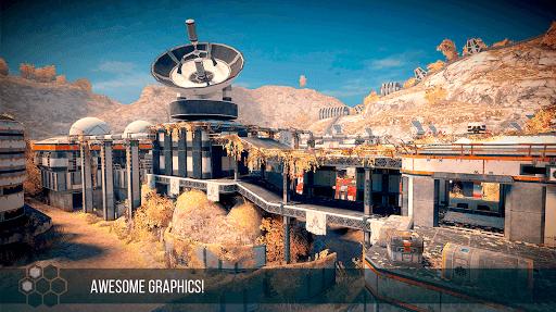 INFINITY OPS: Sci-Fi FPS APK screenshot 1