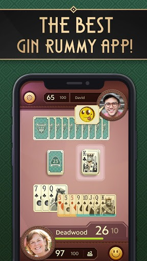 Grand Gin Rummy: The classic Gin Rummy Card Game APK screenshot 1