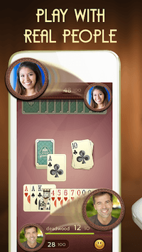 Grand Gin Rummy: Classic card game Gin Rummy APK screenshot 1