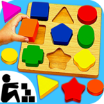 Sudoku Color Shapes Puzzle : Kids Free Game icon
