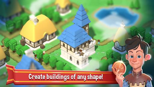 Crafty Town - Kingdom Builder APK screenshot 1
