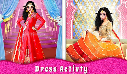 Indian Designer Dresses Fashion Salon For Wedding APK screenshot 1
