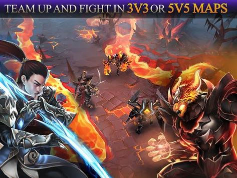 Heroes of Order & Chaos APK screenshot 1