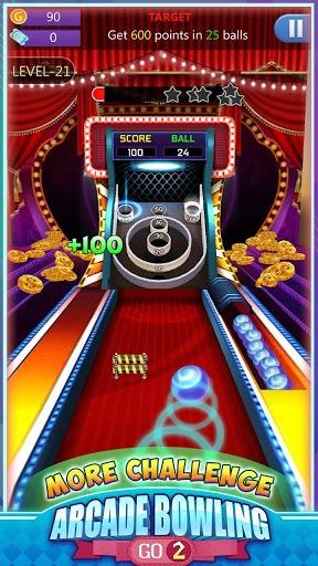 Arcade Bowling Go 2 APK screenshot 1