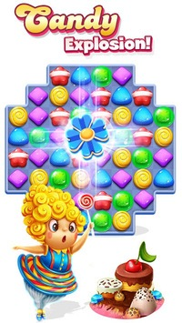 Candy Charming - 2019 Match 3 Puzzle Free Games APK screenshot 1