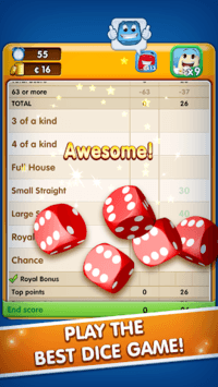 RoyalDice: Play Dice with Friends, Roll Dice Game APK screenshot 1