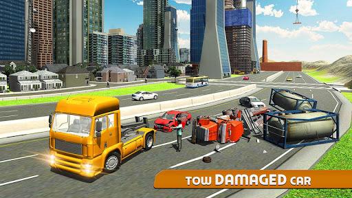 Car Tow Truck Simulator 2016 APK screenshot 1