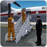 Jail Criminals Transport Plane APK icon
