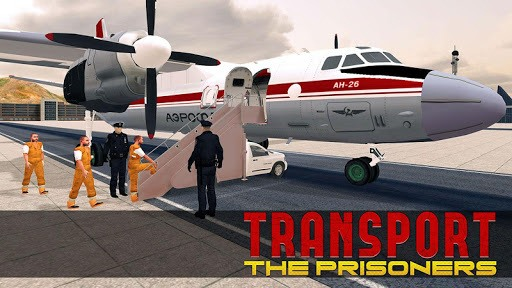 Jail Criminals Transport Plane APK screenshot 1