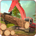 Sawmill Simulator - Forest Truck Driving Game icon