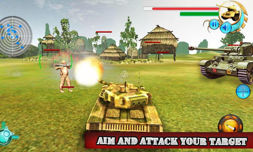 Real Tank Attack War 3D APK screenshot 1
