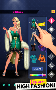Fashion Diva: Dressup & Makeup APK screenshot 1